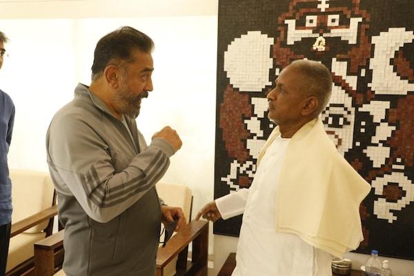 இளையராஜா ஸ்டூடியோவுக்கு கமல் ஹாசனின் சர்ப்ரைஸ் விசிட்!