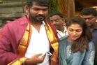 திருப்பதியில் நயன்தாரா விக்னேஷ் சிவன் சுவாமி தரிசனம்!