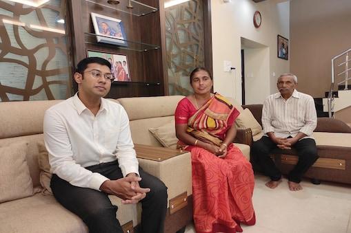 UPSC rank holder Ranjith