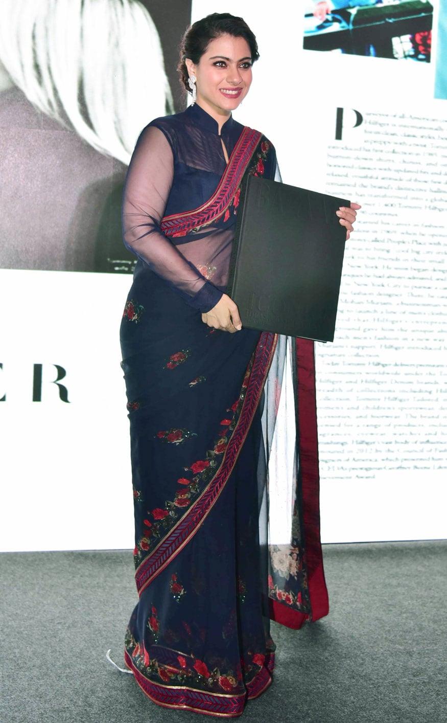 బాలీవుడ్ నటి కాజోల్ తండ్రి సోమూ ముఖర్జీ బాలీవుడ్లో ప్రముఖ నిర్మాత, దర్శకుడు,రచయత (Twitter/Photo)