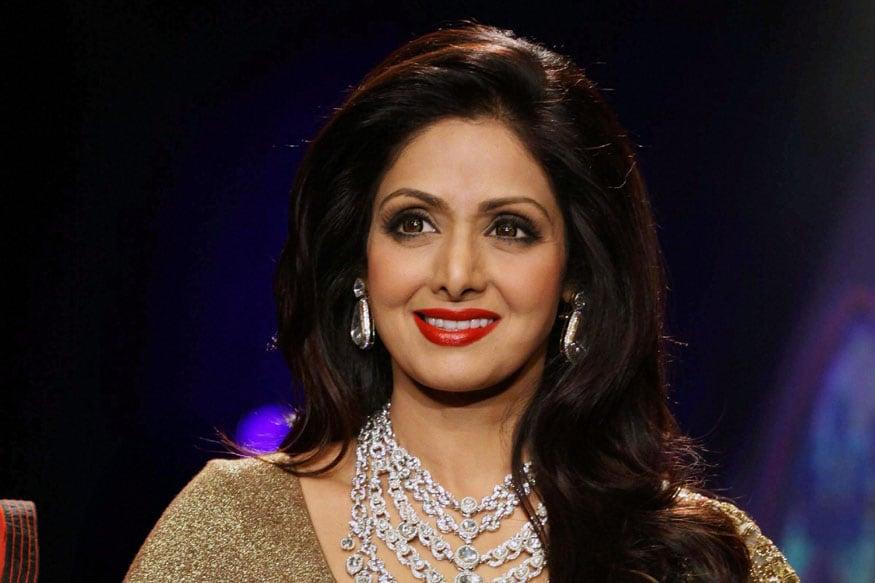 సినీ నటి శ్రీదేవి అరుదైన ఫోటో
