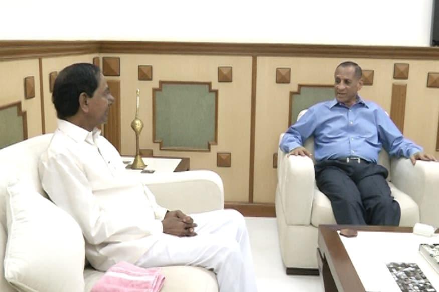 telangana assembly elections 2018|బుధవారం టీఆర్ఎస్ఎల్పీ మీటింగ్.. గవర్నర్తో కేసీఆర్ భేటీ|trs to farm governoment, kct met governor narasimhan