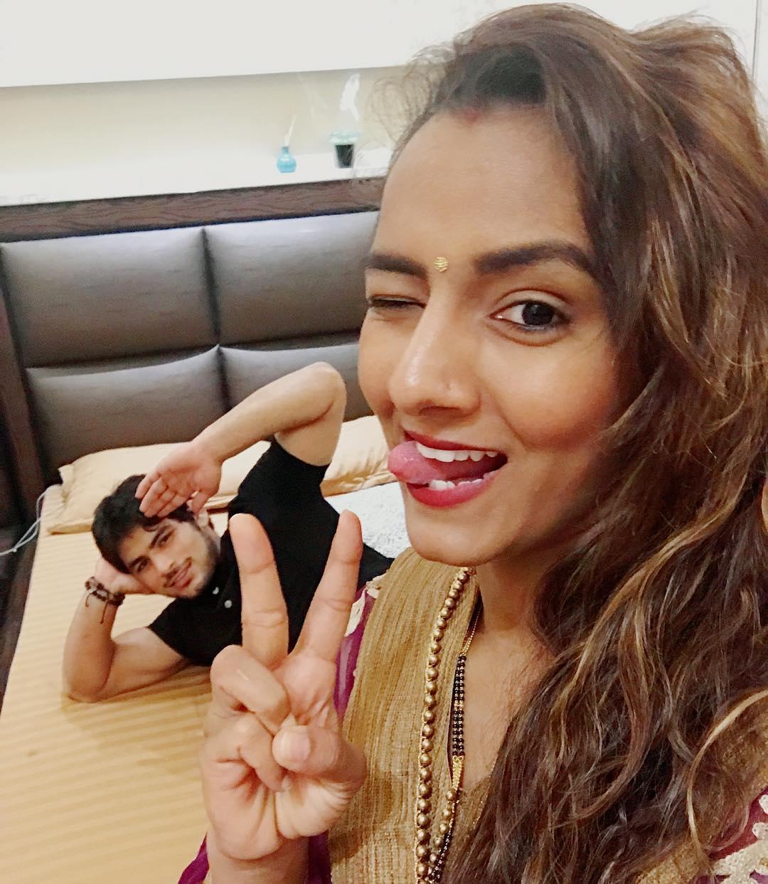 పవన్ కుమార్, గీతా ఫోగట్ ( Geeta Phogat / Instagram )