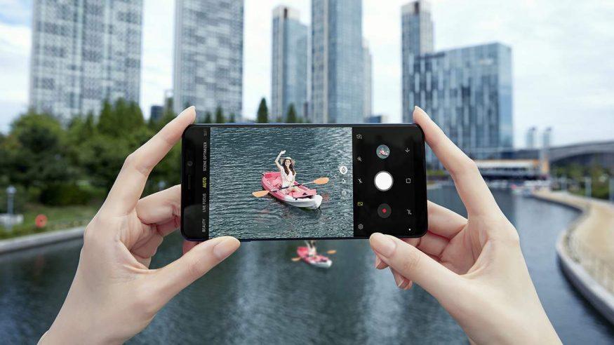 నాలుగు కెమెరాలతో సాంసంగ్ గెలాక్సీ ఏ9, Samsung Galaxy A9 Launched: Becomes First Phone With Four Cameras