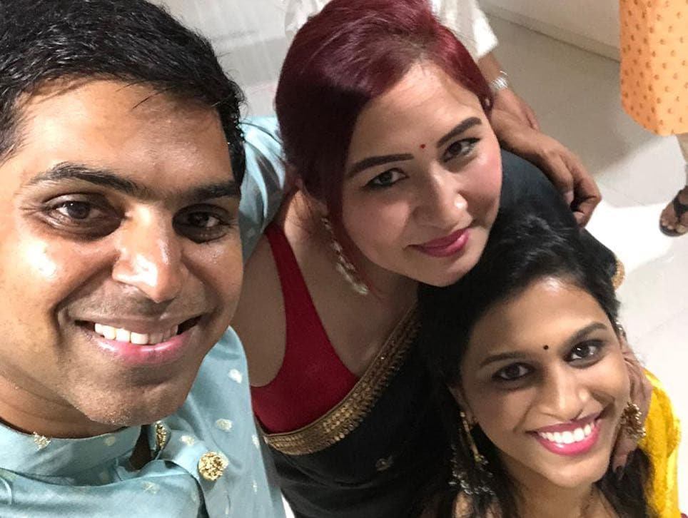 ఫ్రెండ్స్తో కలిసి దీపావళి సెలబ్రేట్ చేసుకున్న భారత బ్యాడ్మింటన్ క్వీన్ గుత్తా జ్వాల ( Jawala Gutta/ Instagram )
