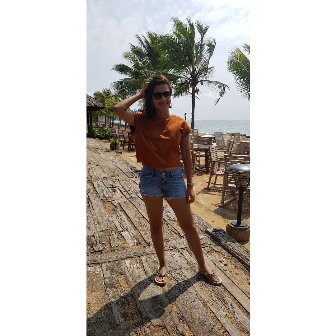 కేరళాలో భారత స్టార్ షూటర్ హీనా సిద్ధూ ( HeenaSidhu/Twitter )