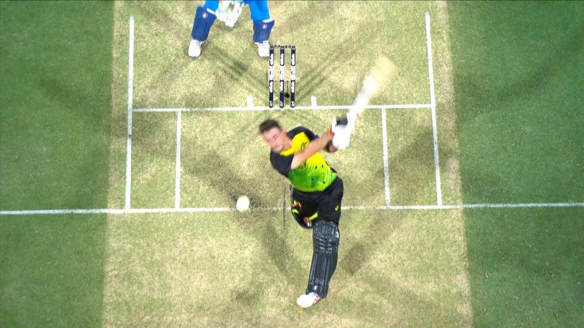 మ్యాక్స్వెల్ ఆస్ట్రేలియా ఇన్నింగ్స్కే టాప్ స్కోరర్గా నిలిచాడు.( Cricket Australia /Fox cricket/ Sports Twitter )