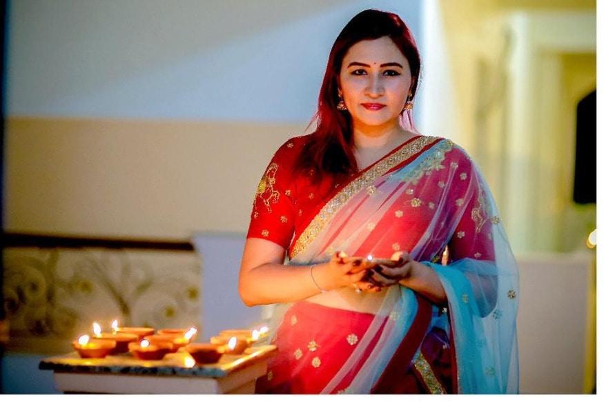 దీపావళి సంబరాల్లో భారత బ్యాడ్మింటన్ క్వీన్ గుత్తా జ్వాల ( Jawala Gutta/ Instagram )