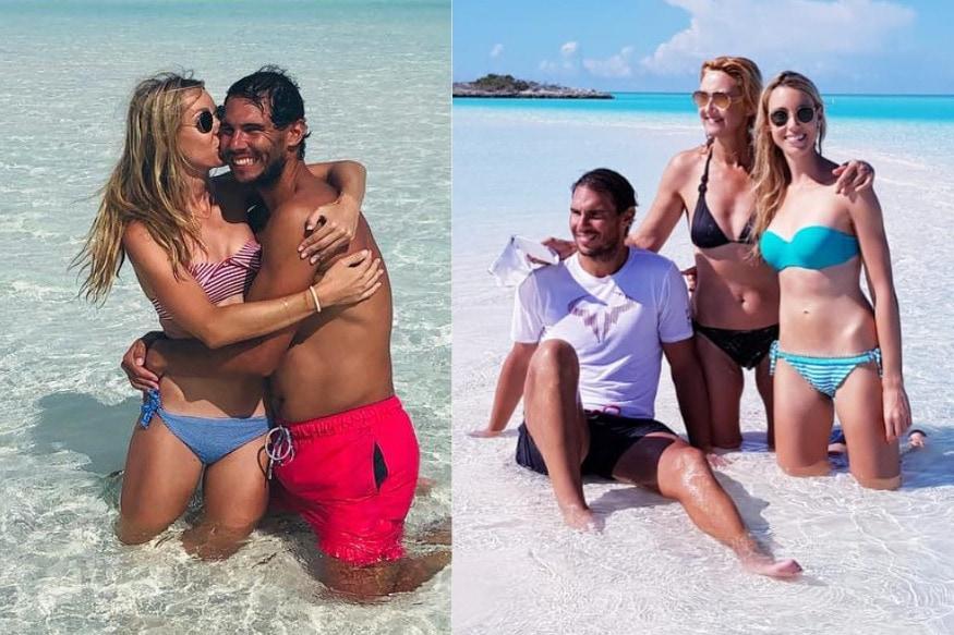 గాళ్ఫ్రెండ్ జిస్కా పెరెల్లో, కుటుంబసభ్యులతో నడాల్ బహ్మాస్లో హాలిడేస్ ఎంజాయ్ చేస్తున్నాడు. ( Rafael Nadal / twitter )