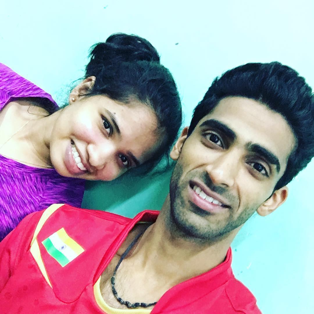 సిక్కి రెడ్డి, సుమీత్ రెడ్డి ( Image credit : Sikki reddy / Instagram )