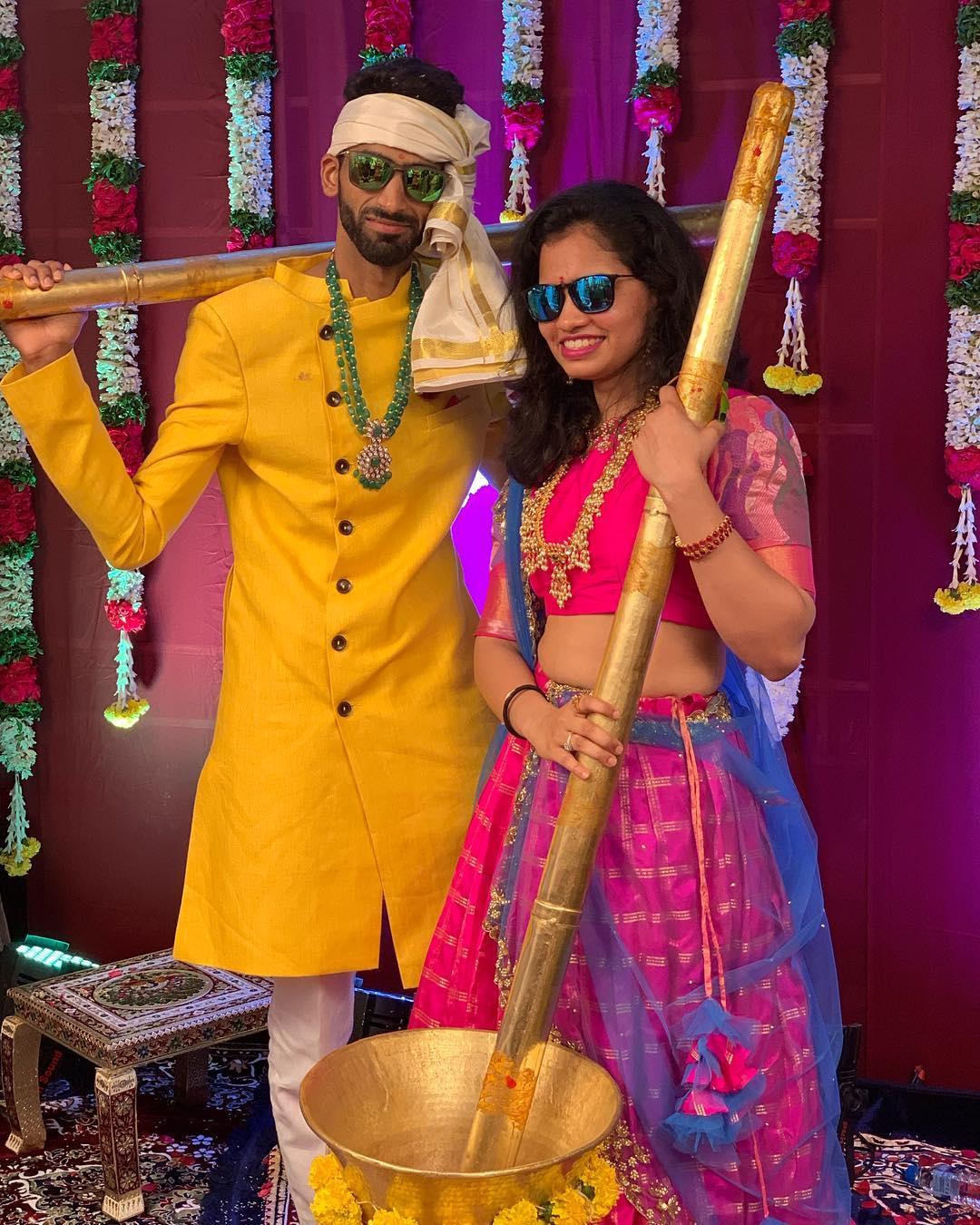 సిక్కి రెడ్డి, సుమీత్ రెడ్డి గత కొంతకాలంగా ప్రేమలో ఉన్నారు. ( Image credit : Sikki reddy / Instagram )
