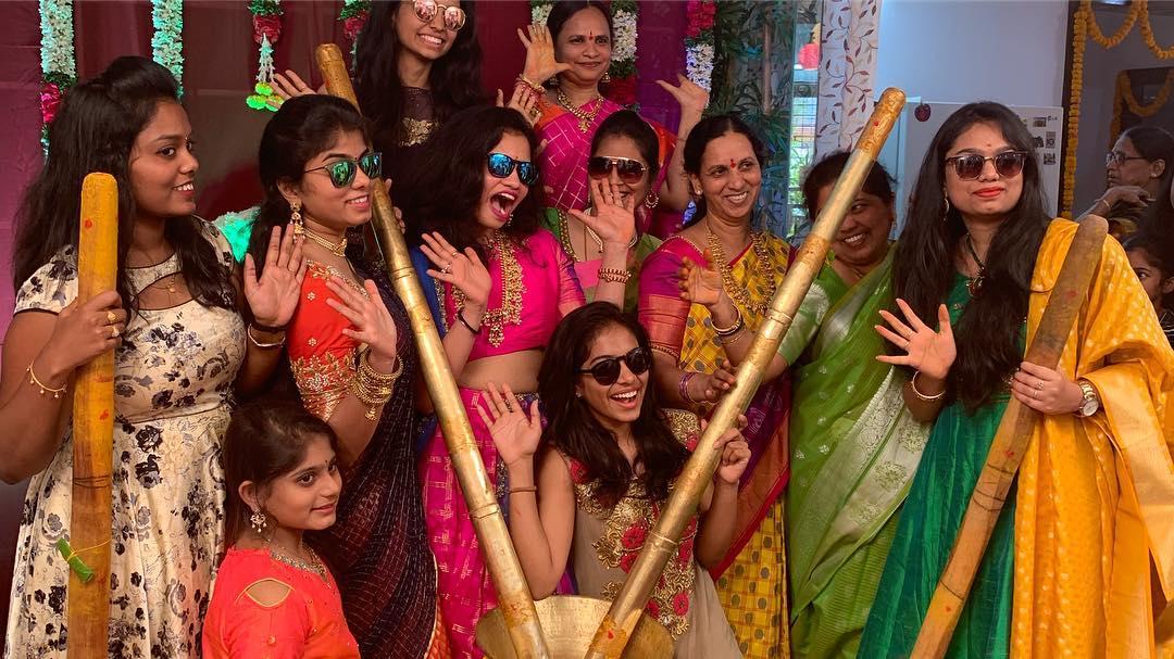 సిక్కి రెడ్డి, సుమీత్ రెడ్డిల పెళ్లి సందడి ( Image credit : Sikki reddy / Instagram )