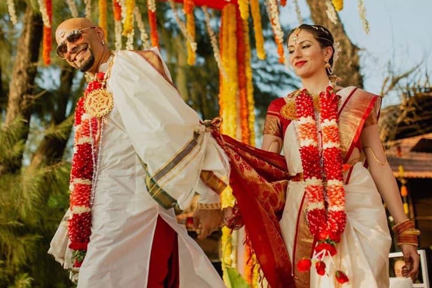 డిసెంబర్ 12న తన నటాలియో డి లూసియోను ప్రేమ వివాహం చేసుకున్న ఎంటీవీ యాంకర్ రఘు రామ్ (Image: Raghu Ram/Instagram)