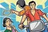 Video: అంబర్ పేటలో చైన్ స్నాచింగ్.. స్పోర్ట్స్ బైక్పై వచ్చి..