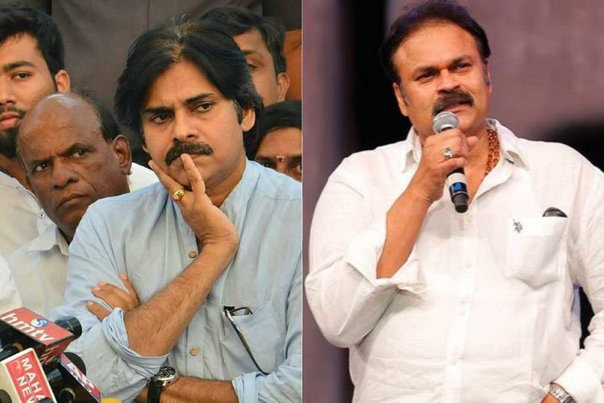 Nagababu interesting Comments on Brother, Jana Sena chief Pawan Kalyan,పవన్ కల్యాణ్ విషయంలో తప్పు చేశాననిపించింది... నాగబాబు సంచలన వ్యాఖ్యలు,pawan kalyan,jana sena,jana sena chief,narasapuram mp candidate,narasapuram lok sabha election,ap assembly election,ap lok sabha election 2019,ap politcis, ap news,mega brothers,mega family,nagababu on pawan kalyan,నాగాబాబు,పవన్ కల్యాణ్,జనసేన పార్టీ,జనసేన అభ్యర్థి,నరసాపురం ఎంపీ అభ్యర్థి,నరసాపురంలో నాగబాబు పోటీ,నరసాపురం నియోజకవర్గం,నరసాపురం లోక్సభ ఎన్నికలు