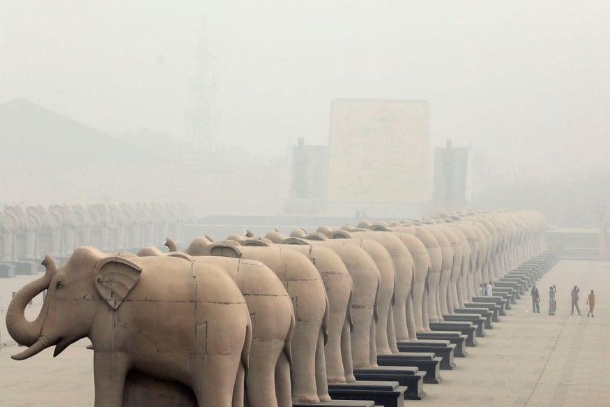 9. లక్నో   భారతదేశం   2018 సగటు PM2.5 లెవెల్స్: 115.7 µg/m³ (Image: Reuters)