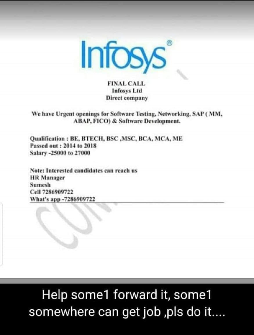 infosys,job scams,infosys case study,job scams india,job scams canada,fake job offer complaints,job scams on indeed,fake job offer emails,infosys case stu,infosys crisis,infosys buyback,how to know if a job is legit,fake jobs,infosys limited,infosys,identify job cheaters,infosys ltd.,infosys share price,infosys - n.r. narayana murthy,scams in india,common scams in india,scam job offers,job scams,scams,job,job scam,scam,job search tips,fake job,job scams online,job scams in china,chinese job scams,security job scams,temporary job scams,nigerian scams,accounts receivable job scams,financial coordinator job scams,get a job,jobs,online scams,lottery scams,indeed job scam,online job scam,facebook scams,scams 2018,job interview,scammed,ghana scams,employment scams,weight loss scams,dating scams,ఇన్ఫోసిస్ జాబ్ ఆఫర్స్,ఇన్ఫోసిస్ జాబ్ మోసాలు, జాబ్ చీటర్స్,ఉద్యోగం పేరుతో మోసాలు,నిరుద్యోగ యువతకు వల,