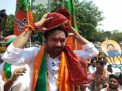 సికింద్రాబాద్లో బీజేపీ అభ్యర్థి కిషన్రెడ్డి ఘన విజయం