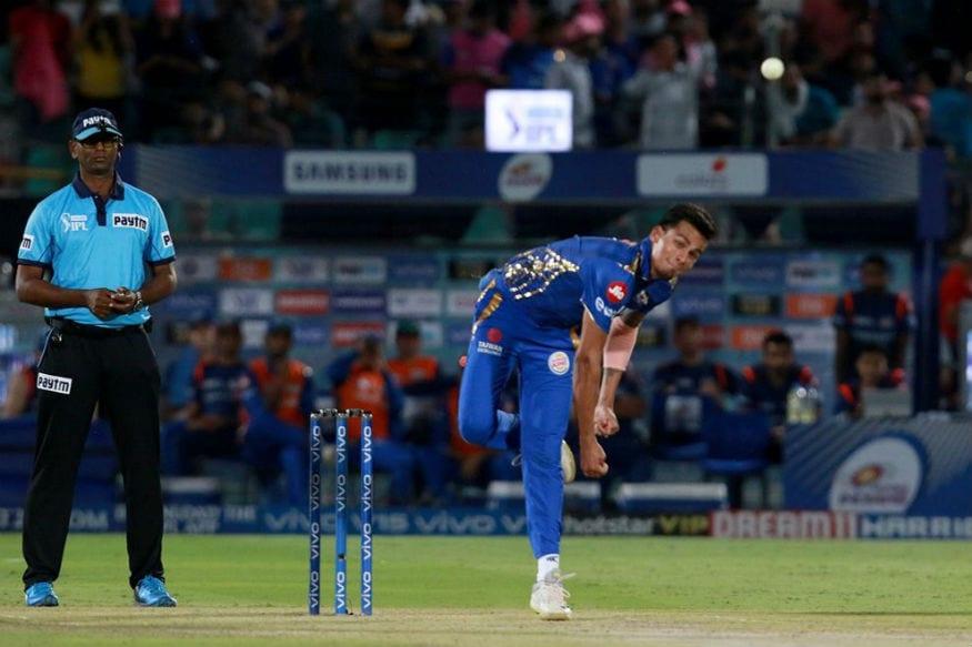 రాహుల్ ఛాహర్ బౌలింగ్ (Image:IPL)