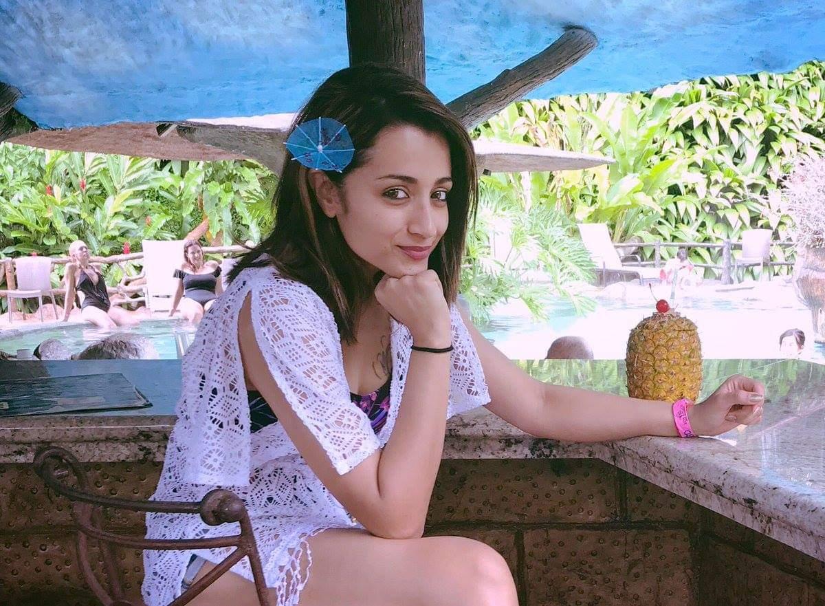అందాల త్రిష హాట్ ఫోటోస్ Photo: Twitter