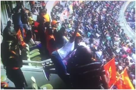 మందు కొట్టి ఉప్పల్ స్టేడియంలో యాంకర్ రచ్చ.. ఐదుగురి అరెస్ట్
