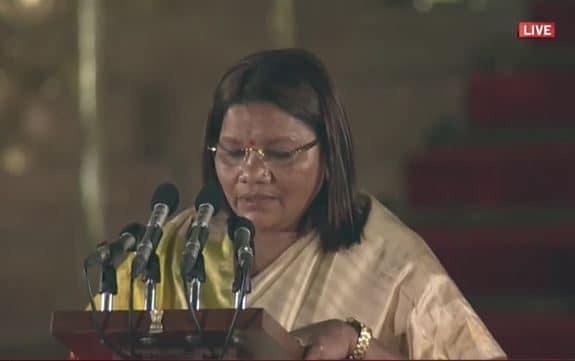 రేణుకా సింగ్, గిరిజన సంక్షేమ శాఖ సహాయమంత్రి