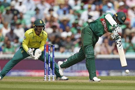 Worldcup 2019: సఫారీలకు షాక్ ఇచ్చిన బంగ్లా... దక్షిణాఫ్రికా ముందు రికార్డు టార్గెట్...