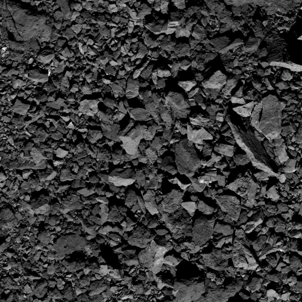 నాసా విడుదల చేసిన బెన్నూ గ్రహశకలం ఫొటో (Image : asteroidmission.org/galleries/spacecraft-imagery)