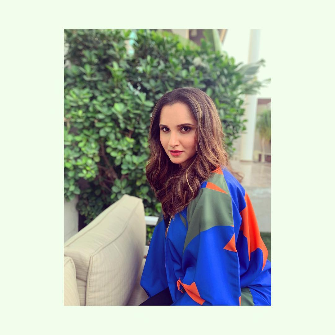 సానియా మీర్జా Photo: Instagram.com/mirzasaniar