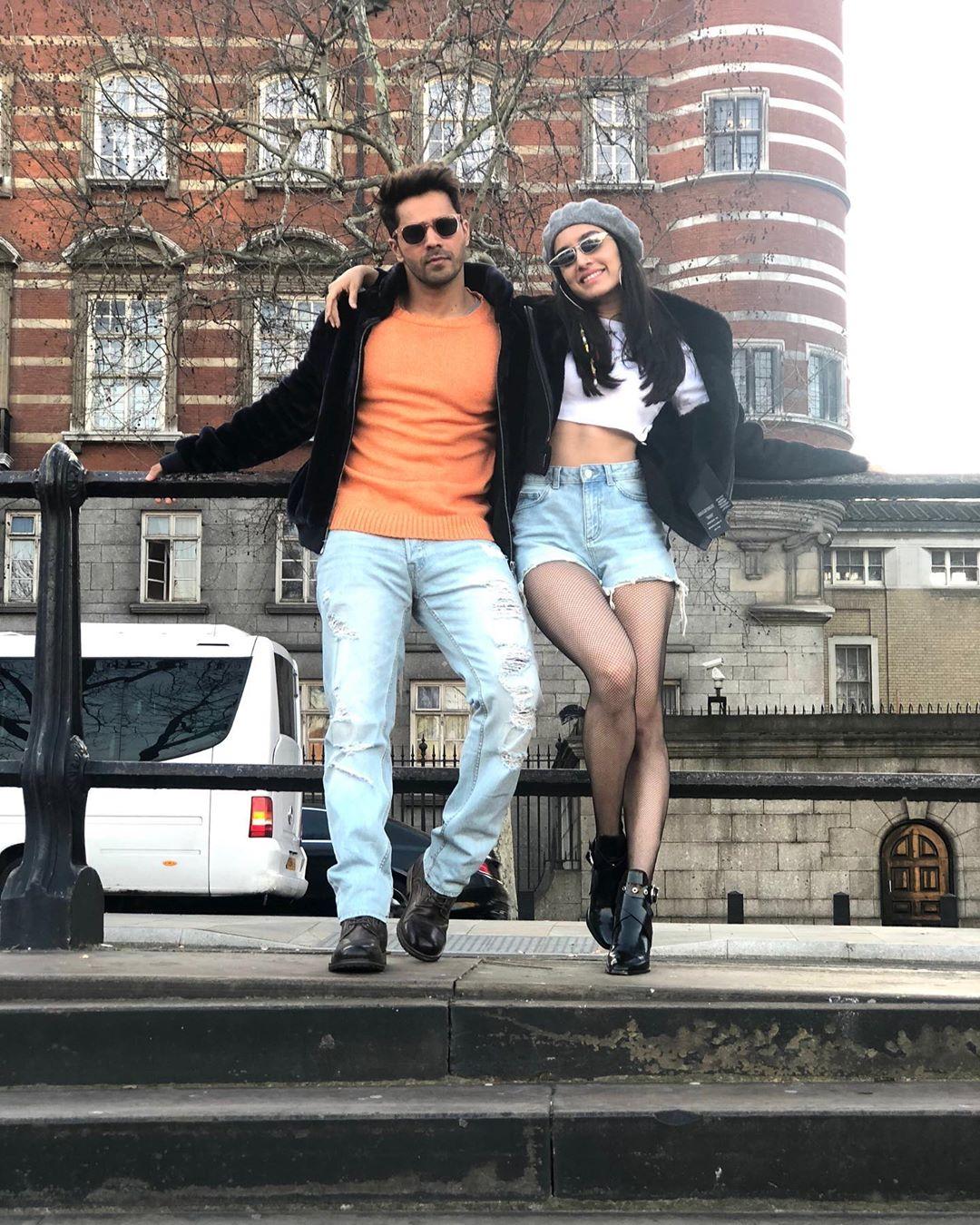 శ్రద్ధా కపూర్, వరుణ్ ధావన్ Photo: Instagram.com/shraddhakapoor