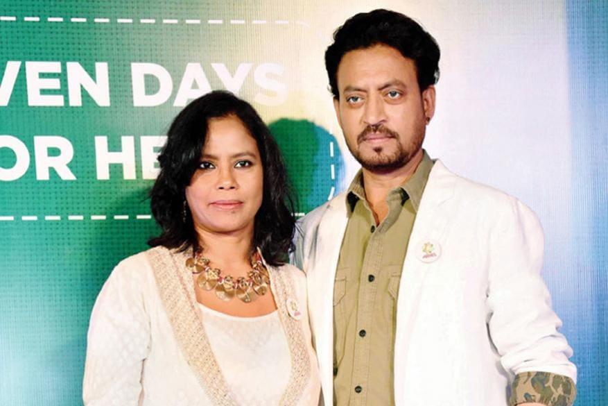 భార్య సుతాప సిక్దర్ తో ఇర్ఫాన్ ఖాన్ / Photo Instagram