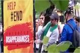 Video : వరల్డ్ కప్ మ్యాచ్లో బలూచిస్తాన్ పోస్టర్లు... చించేసిన పాకిస్థాన్ ఫ్యాన్స్