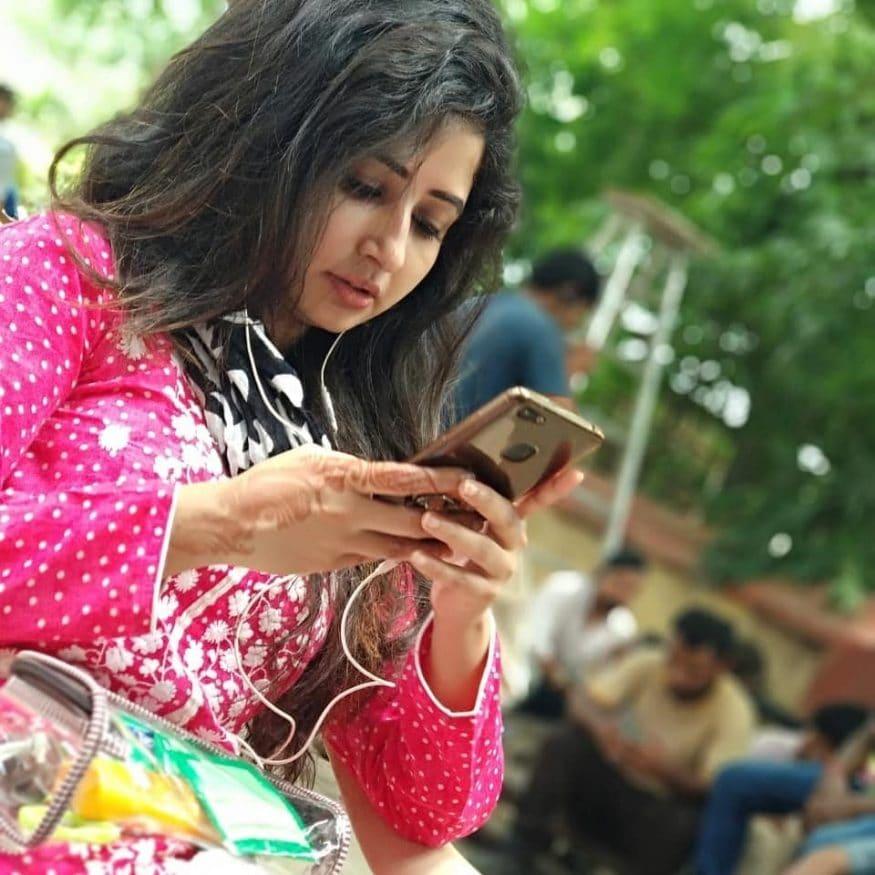 సనా అమిన్ షేక్ క్యూట్ ఫొటో (Image : insta/sanaaminsheikh)