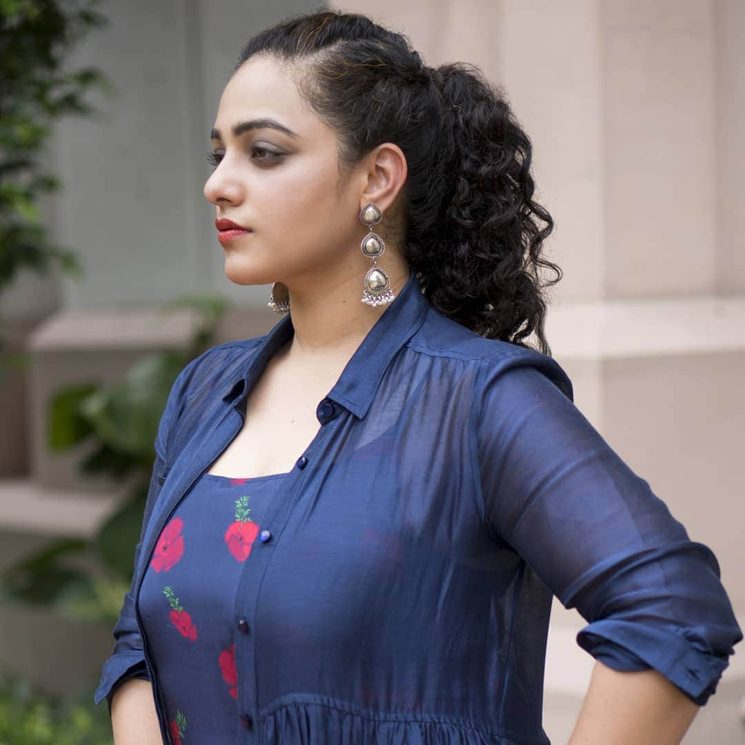 తమిళనాడు మాజీ ముఖ్యమంత్రి జయలలిత పాత్రలో నిత్యామీనన్ Photo: Instagram.com/nithyamenen