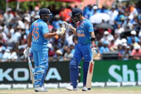 India Vs West Indies: ధావన్ ఔట్...నిలకడగా రాణిస్తున్న కోహ్లీ, రోహిత్...