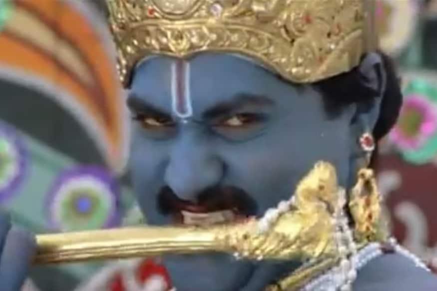 సునీల్ 'అందాలరాముడు'లో కొంటె శ్రీకృష్ణుడిగా కాసేపు కనిపించడం విశేషం.(Youtube/Photo)