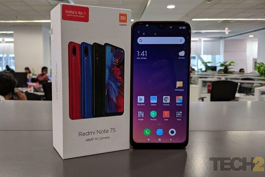 Redmi Note 7S: రెడ్మీ నోట్ 7ఎస్ ఓనిక్స్ బ్లాక్, సఫైర్ బ్లూ, రూబీ రెడ్ కలర్స్లో లభిస్తుంది. 3జీబీ+32జీబీ ధర రూ.9,999 కాగా, 4జీబీ+64జీబీ ధర రూ.11,999. (Image: Tech2)