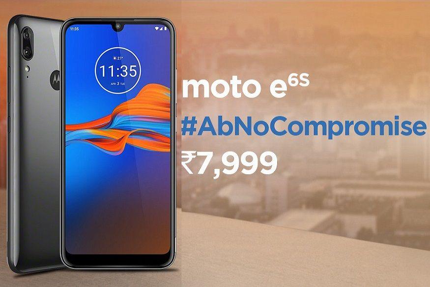 9. మోటో ఈ6ఎస్ 4జీబీ+64జీబీ ధర రూ.7,999. (image: Motorola India)