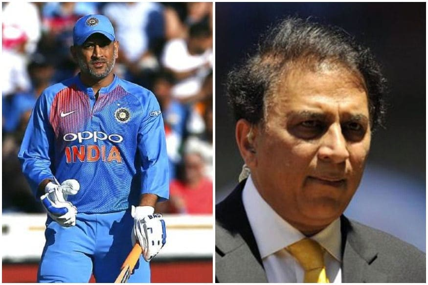 ms dhoni should go with out being pushed out says sunil gavaskar