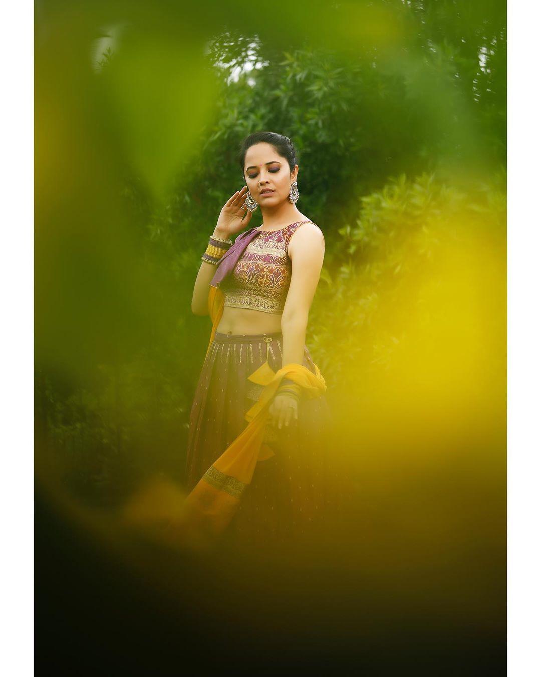 అనసూయ భరద్వాజ్ లేటెస్ట్ ఫోటోషూట్ (Image : Instagram)