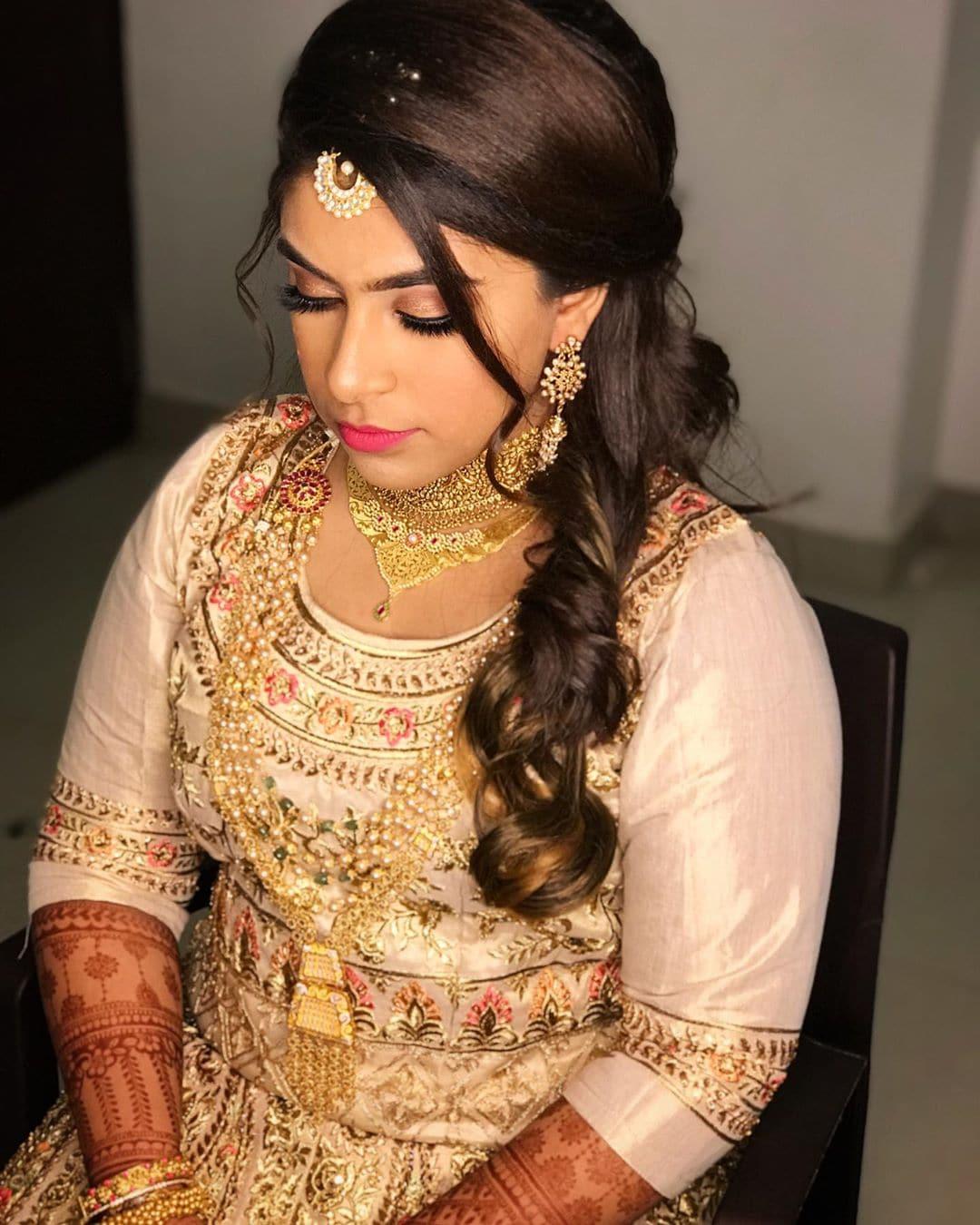 నహిదా బ్రైడల్ మేకోవర్ (credit - insta - nahidas_blush)