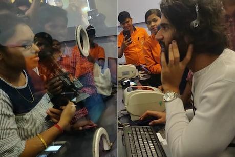 ఐమ్యాక్స్లో టికెట్లు అమ్మిన విజయ్ దేవరకొండ..