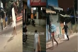 Video : రాత్రిపూట దెయ్యం గెటప్లో..