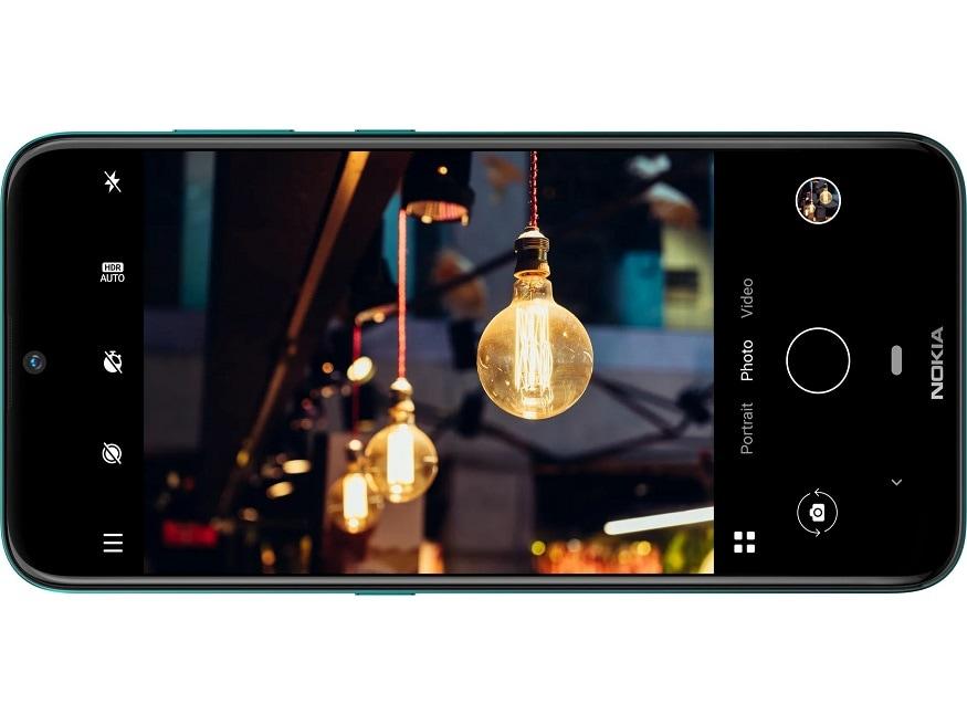 7. నోకియా 2.3 స్మార్ట్ఫోన్ రియర్ కెమెరా13+2 మెగాపిక్సెల్. ఫ్రంట్ కెమెరా 5 మెగాపిక్సెల్. (image: Nokia)