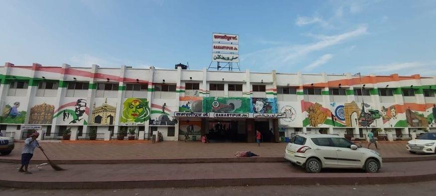 17. బీహార్లోని సమస్తీపూర్ రైల్వే స్టేషన్. (image: Indian Railways)