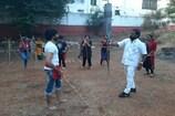Video: కర్రసాములో ఇరగదీసిన మంత్రి శ్రీనివాస్ గౌడ్