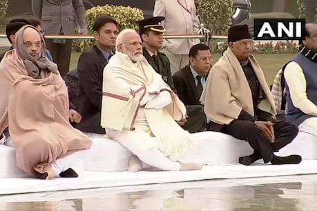 వాజ్పేయి జయంతి... నివాళులర్పించిన మోదీ, అమిత్ షా