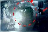 Video : బైకర్ను ఢీకొట్టి పారిపోయిన కారు డ్రైవర్