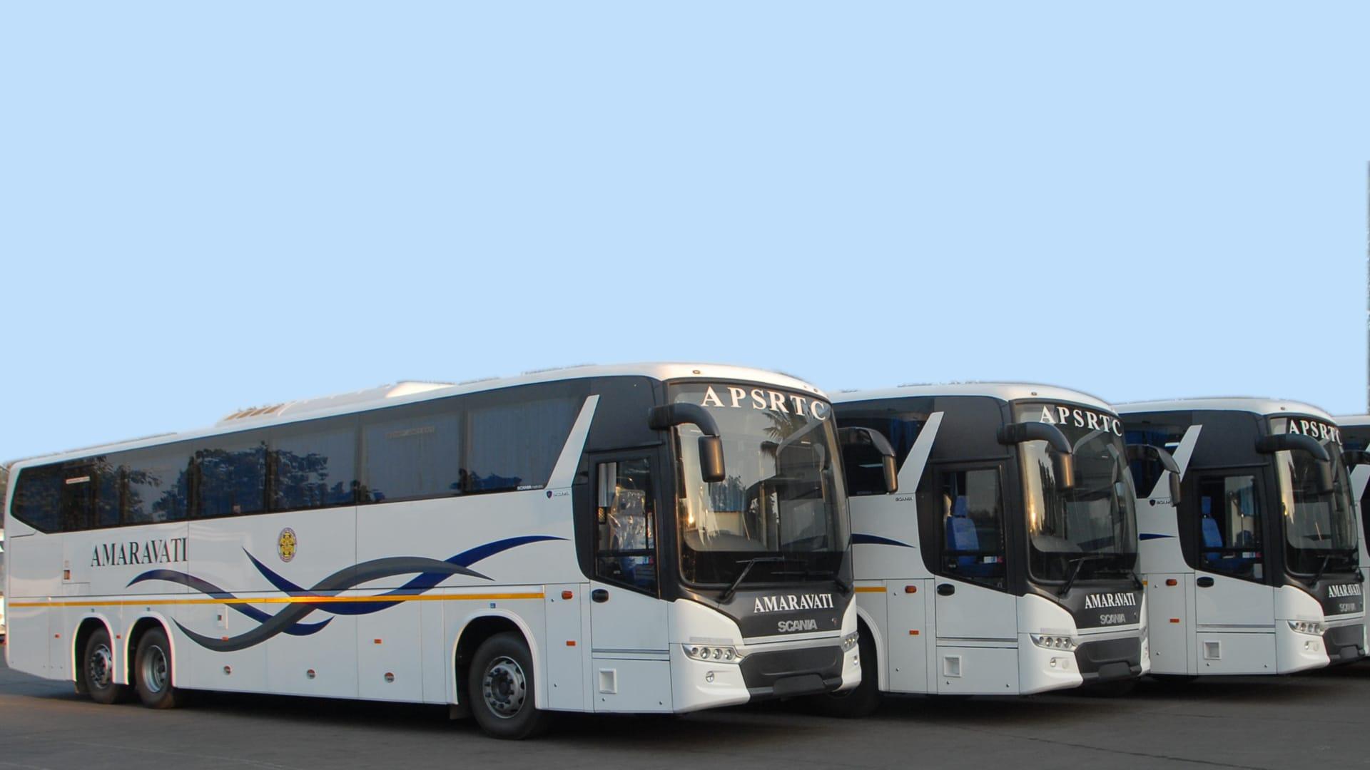 మొత్తం 3607 బస్సుల్లో 433 బస్సులు బెంగళూరుకి, 133 చెన్నైకి, 201 బస్సులు ఏపీలోని వివిధ ప్రాంతాల నుంచి విజయవాడకు, 551 బస్సులు విశాఖపట్నం, 1038 బస్సులు జిల్లాల్లో నడపనున్నారు.