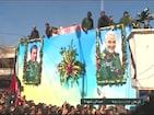 Video:సులేమానీ అంతిమ యాత్రలో తొక్కిసలాట...50 మందికి పైగా మృతి